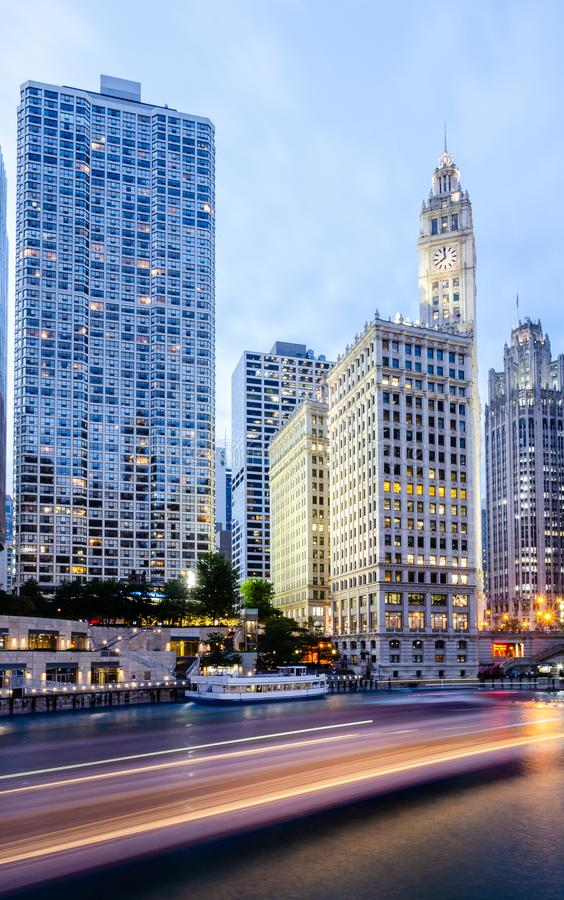 Wrigley Building, Chicago royalty free stock photo