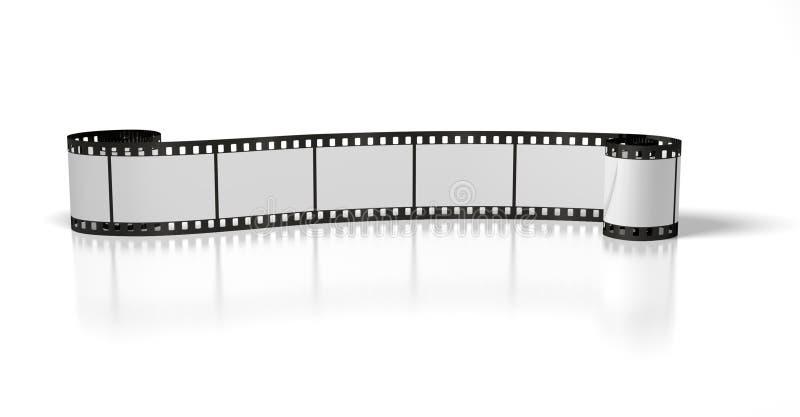 Long film stripe stock photo