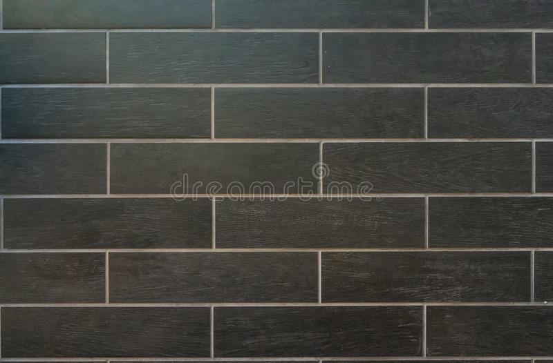 Long Gray Tiles With White Grout Stock Image - Image of grey, tile ...