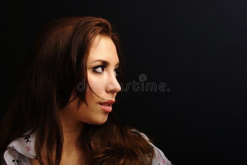 Long Hair Royalty Free Stock Photography