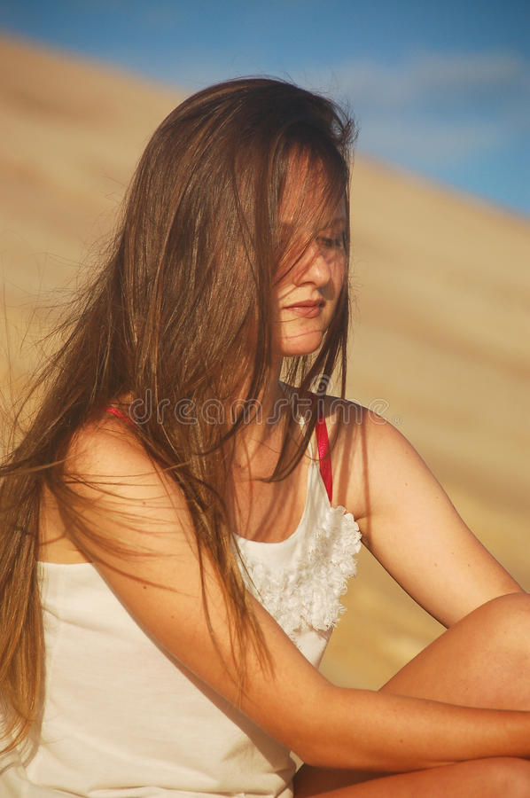 shy depressed teenager royalty free stock images