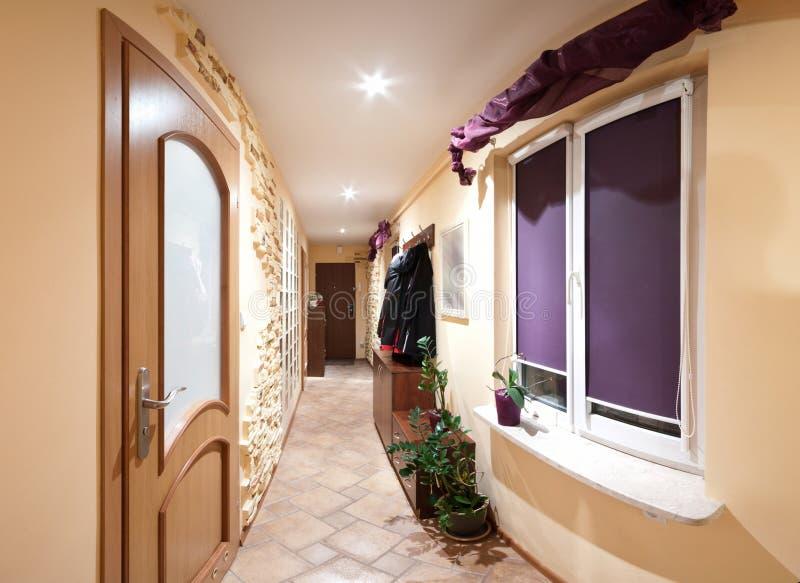 Download Long hallway stock photo. Image of interior, hallway - 18423738
