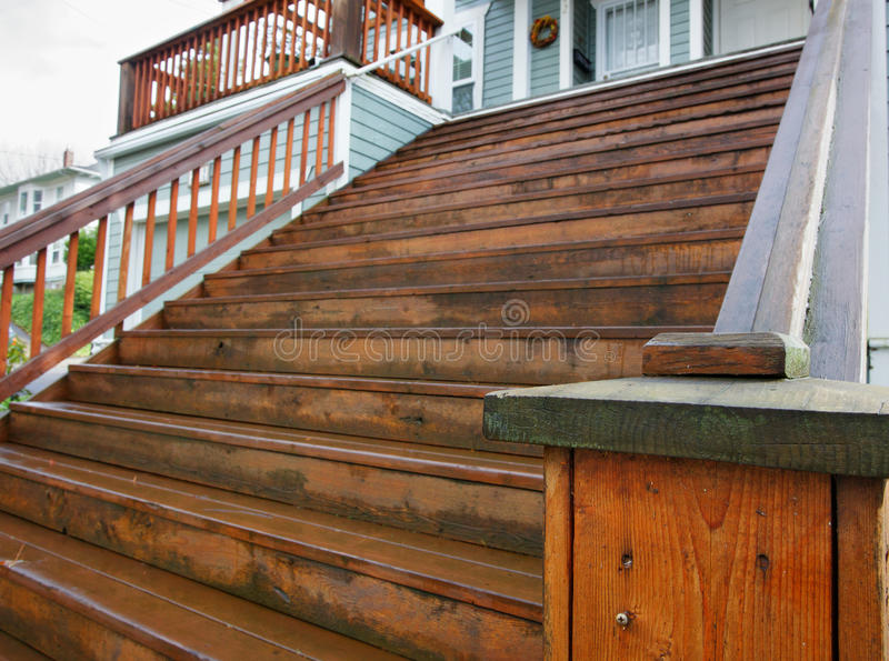 Download Long Home Wood Stairs Royalty Free Stock Photos - Image: 23779688