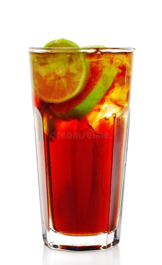 Long Island Iced Tea Cocktail royalty free stock photo