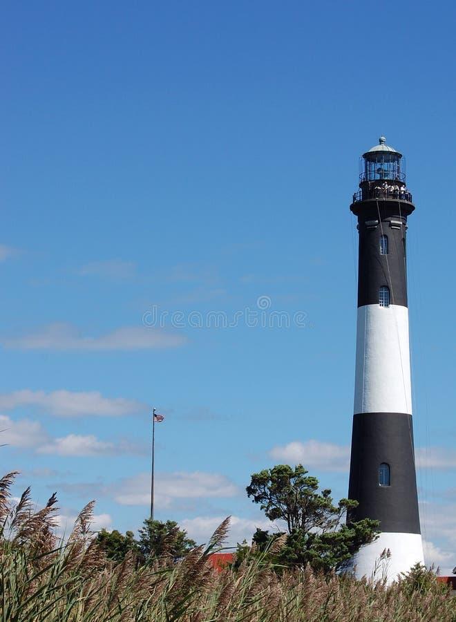 Long Island LI NY Nowy Jork plaży latarnia morska fotografia stock