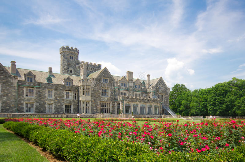 Long Island Mansion royalty free stock images