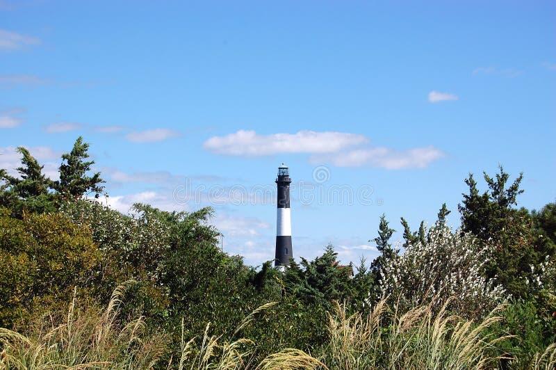 Long Island NY Nowy Jork plaży latarnia morska fotografia stock
