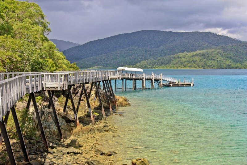 Long Island Whitsundays Queensland στοκ φωτογραφίες