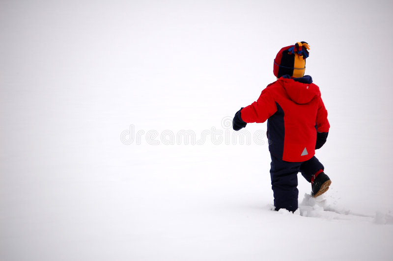 Download Long Journey stock photo. Image of chill, snowy, mittens - 1994756