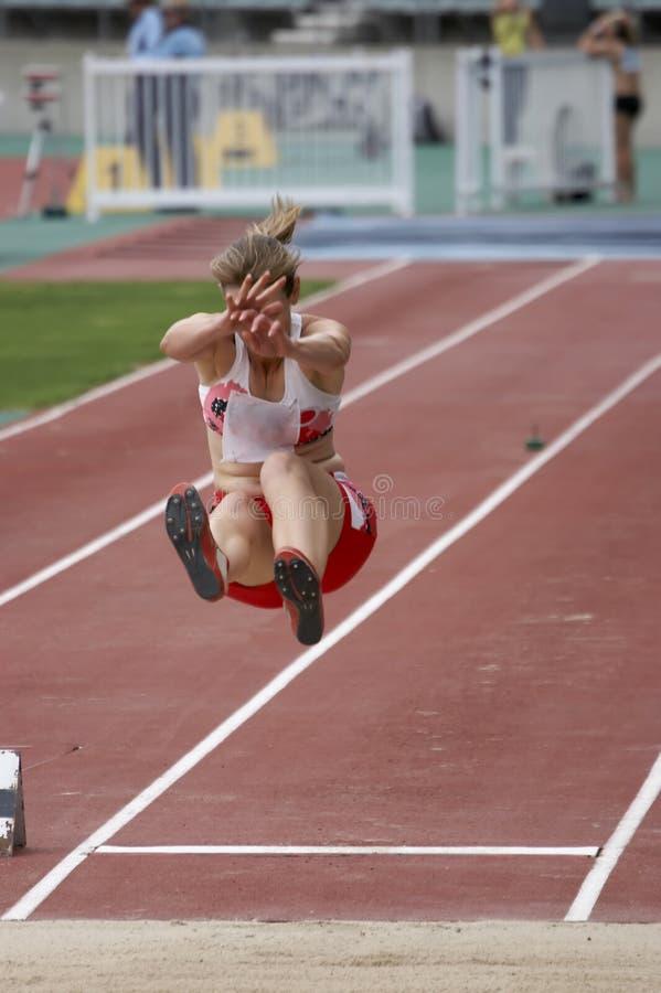 Long Jump stock image