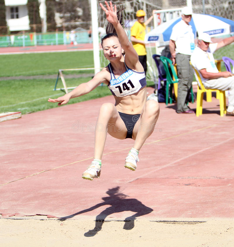 Download On The Long Jump Editorial Image - Image: 24824670