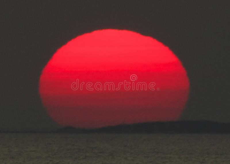 Sunset royalty free stock photos