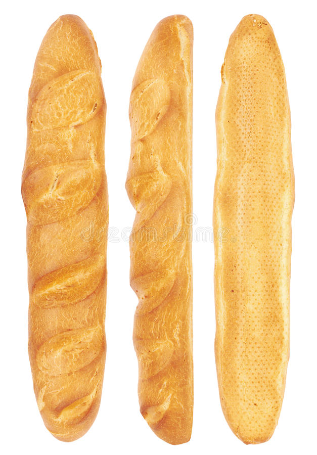 Download Long loaf from three sides stock image. Image of healthy - 23117683