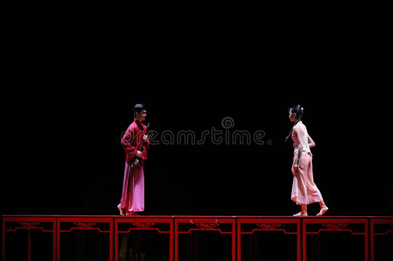 The long love road-The first act of dance drama-Shawan events of the past. Guangdong Shawan Town is the hometown of ballet music, the past focuses on the stock images