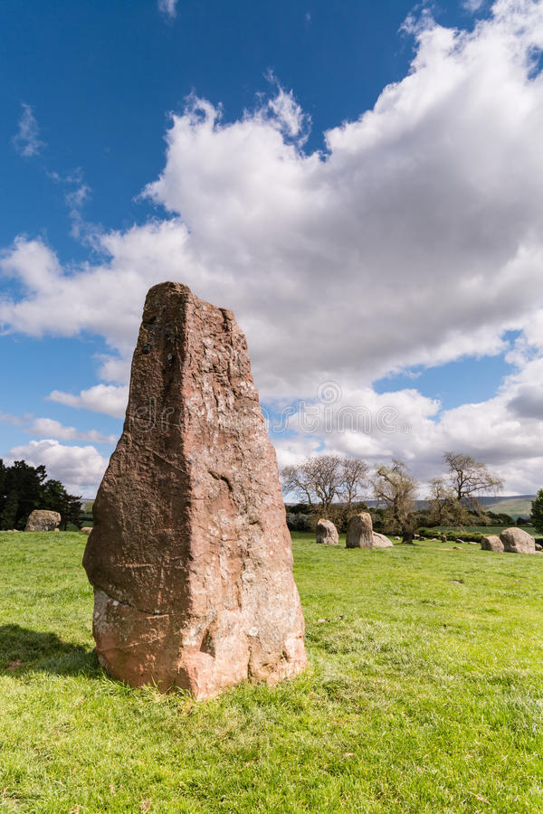 Free Long Meg Monolith Stock Images - 41211334