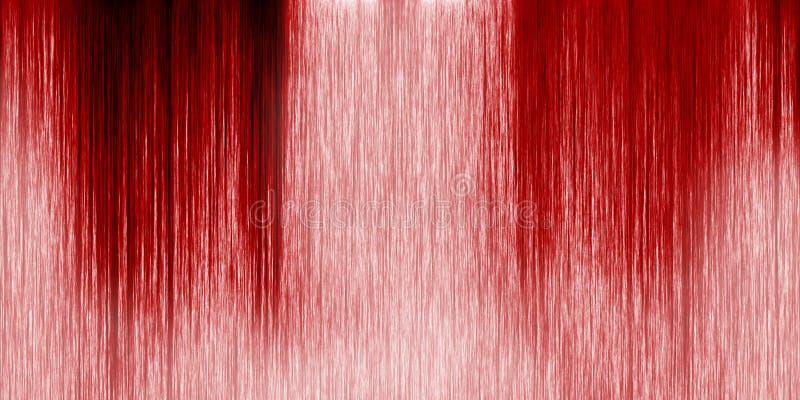 Long mur avec le sang illustration stock