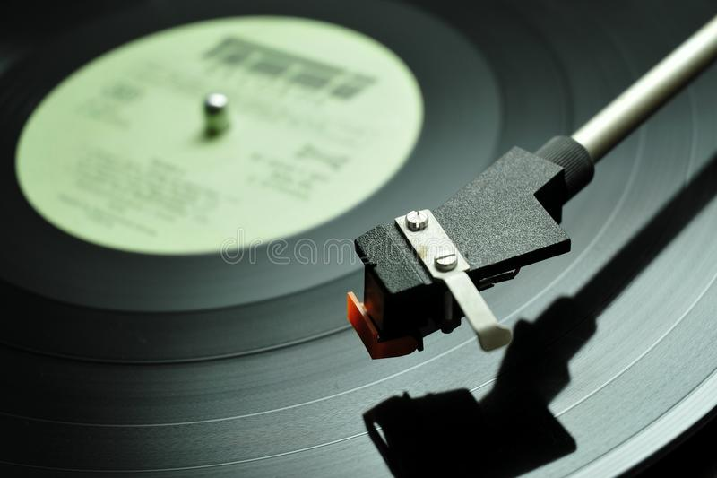 Long-play record royalty free stock image