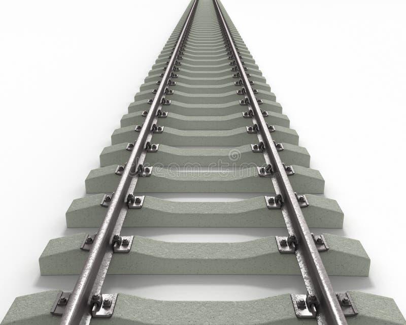 Download Long Rails Textured stock illustration. Illustration of rails - 13335407