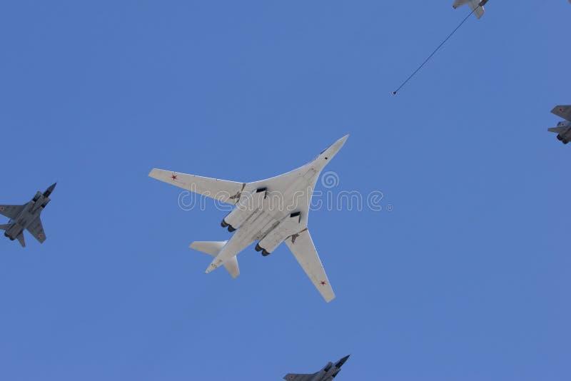 Long-range Strategic Bomber Stock Images