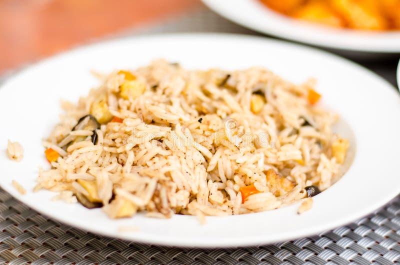 Download Long rice with cinnamon stock image. Image of food, eggplants - 33062251