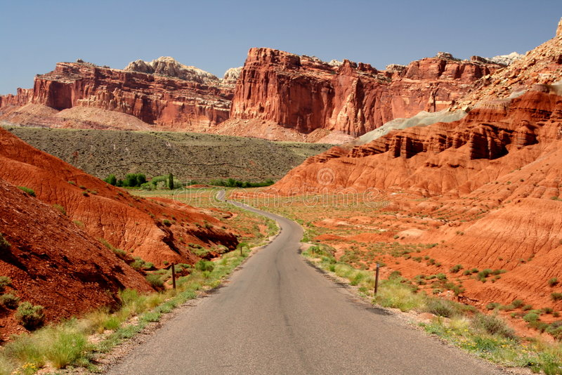 Download The long road forward stock image. Image of geological - 3016381