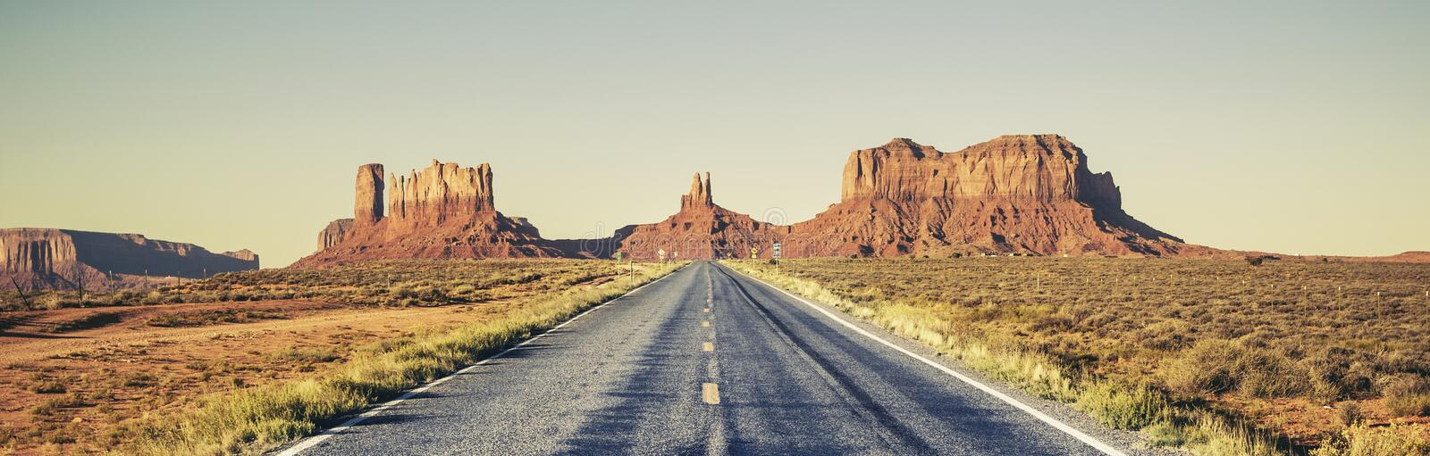 Long road royalty free stock images
