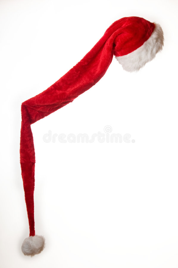 Long Santa Hat stock photo