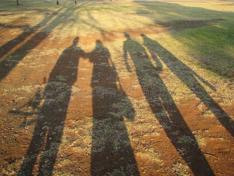 Long Shadows stock image