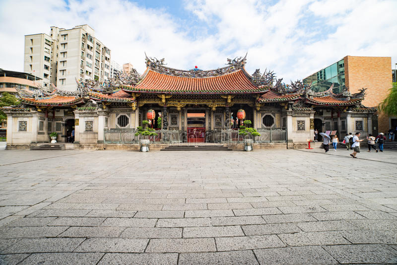 Long Shan Temple Taipei royalty free stock images