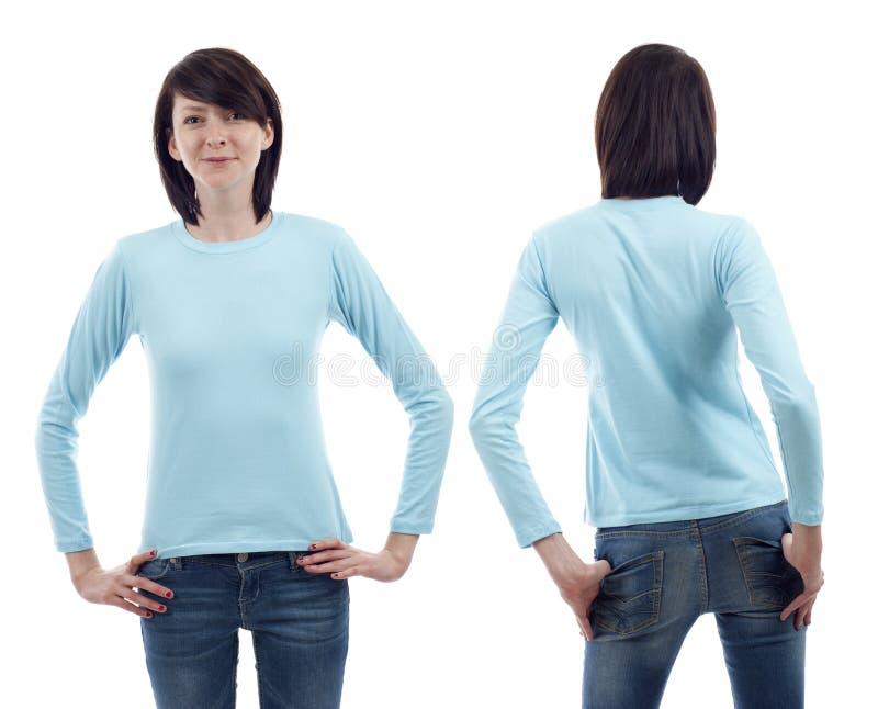 Download Long Sleeve Shirt stock photo. Image of latin, blank - 21435826