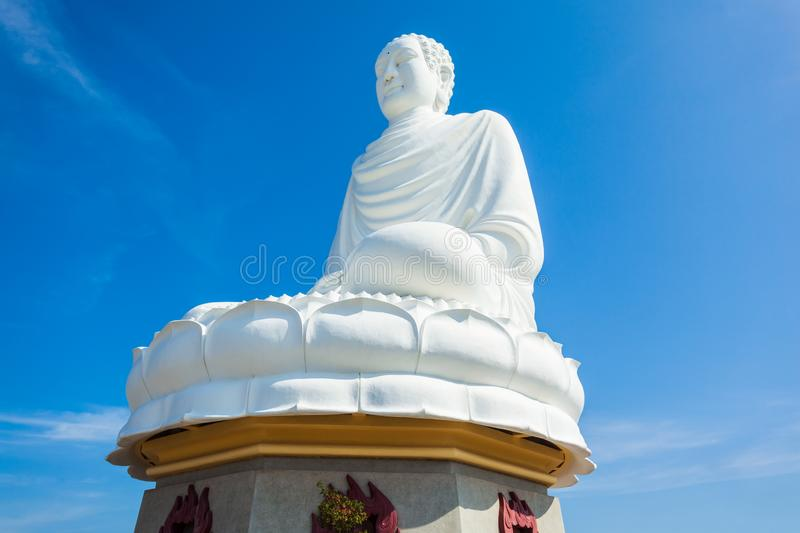 Long Son Pagoda, Nha Trang royalty free stock photography