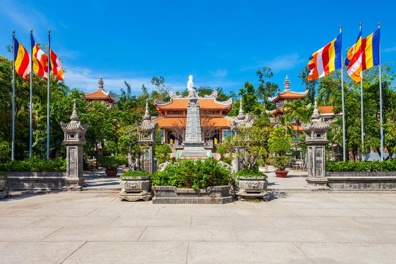 Long Son Pagoda, Nha Trang stock photography