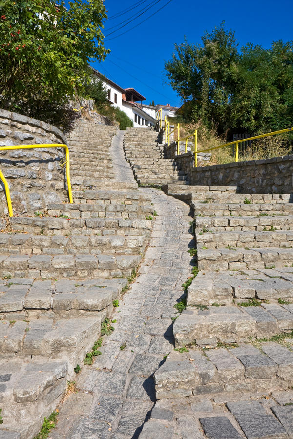 Long Staircase royalty free stock images