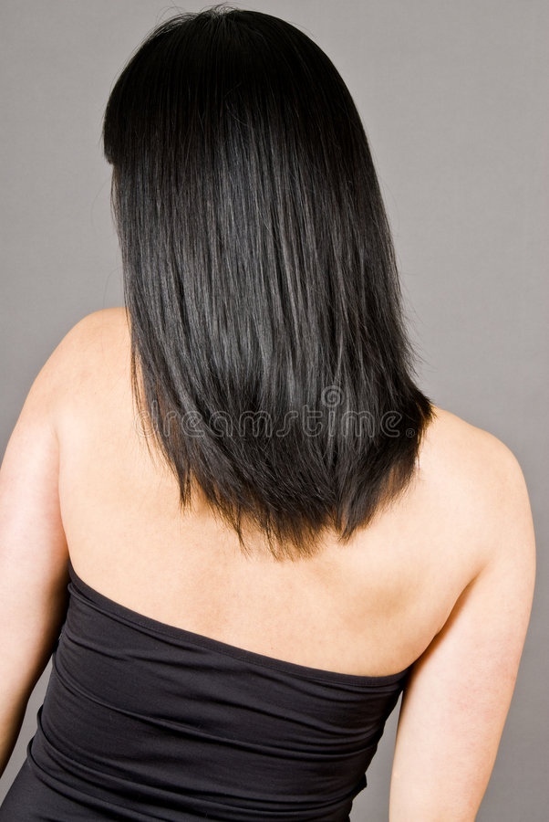 Download Long Straight Black Hair stock image. Image of female - 8243631