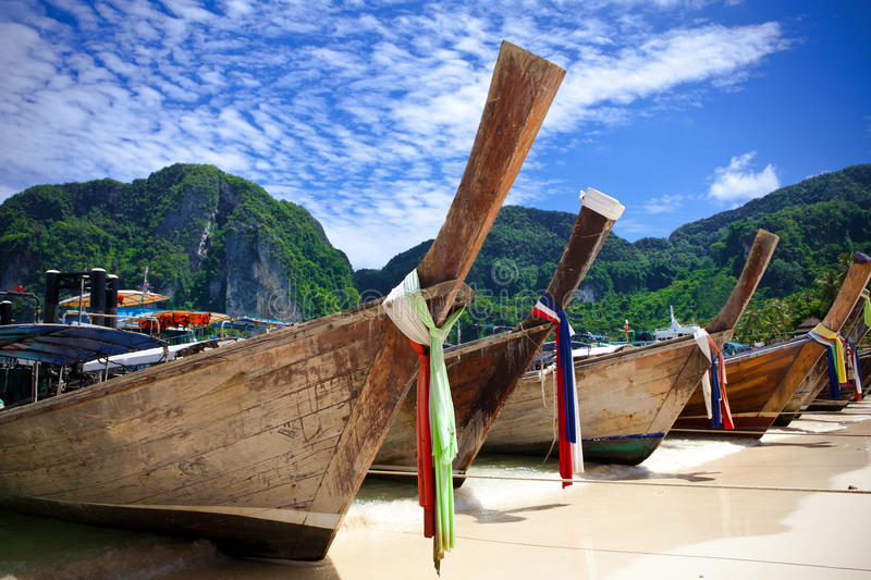 Download Long Tail Boat stock photo. Image of long, traveling - 20052126
