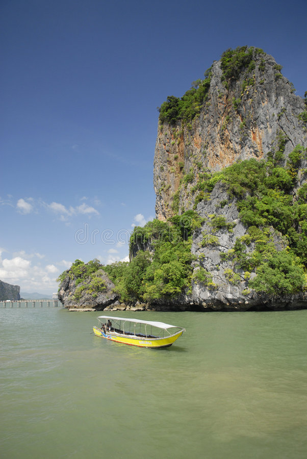 Download Long tail boat in Thailand stock image. Image of water - 3659655