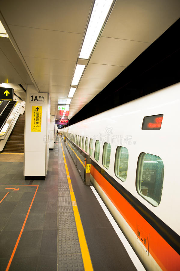 Download The Long Taiwan High Speed Rail From One Side To T Stock Photo - Image: 18924204