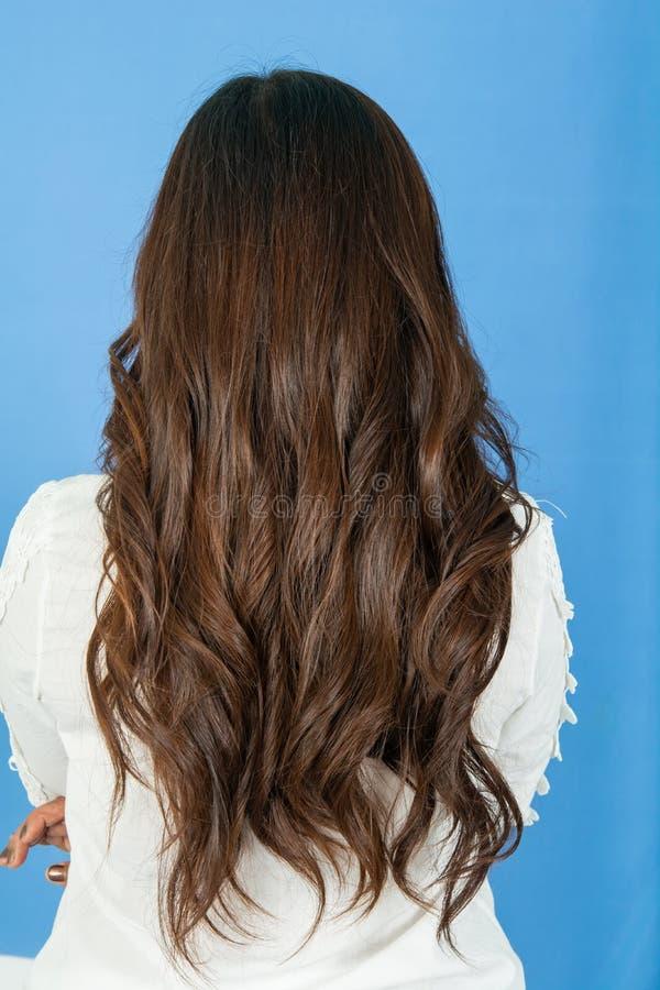 Long and thick hair of women. Beautiful Long and thick hair of women stock photography