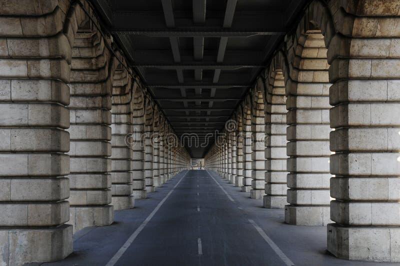 Download Long tunnel under bridge stock image. Image of stone - 11147463