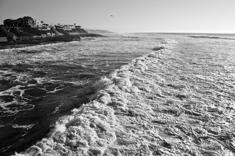 Download Long Wave with houses stock photo. Image of white, black - 83714484