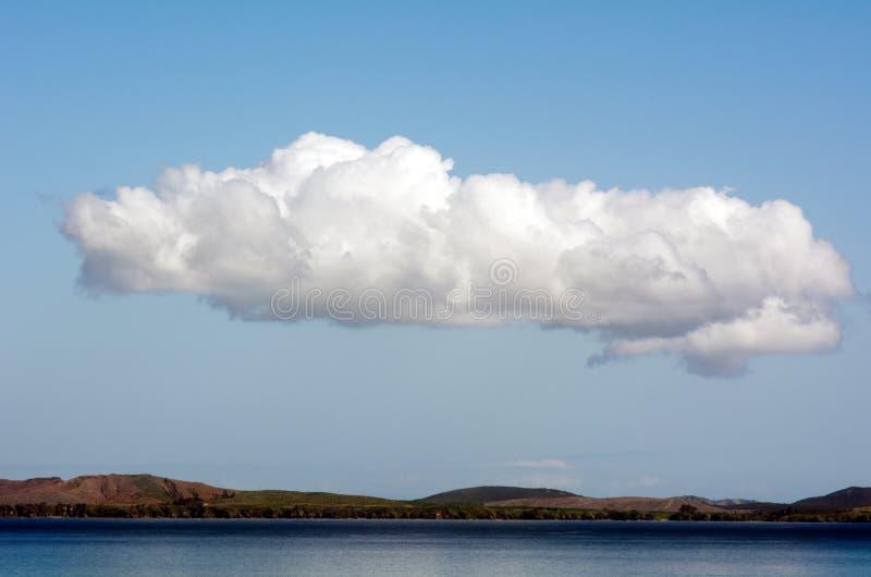 Download Long white cloud. stock photo. Image of cloud, coast - 35499422