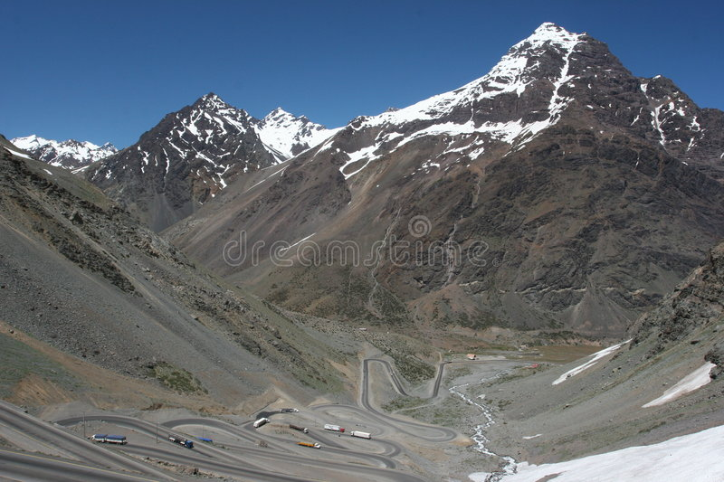 Download Long and Winding Road stock photo. Image of twist, hill - 372148