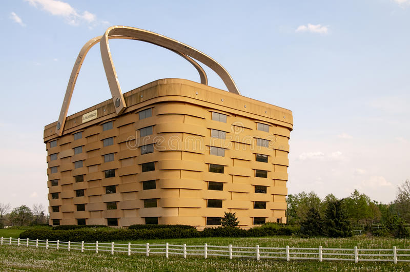 Download Longaberger Picnic Basket Building Editorial Photography   Image  Of Structure, Wooden: 54325067