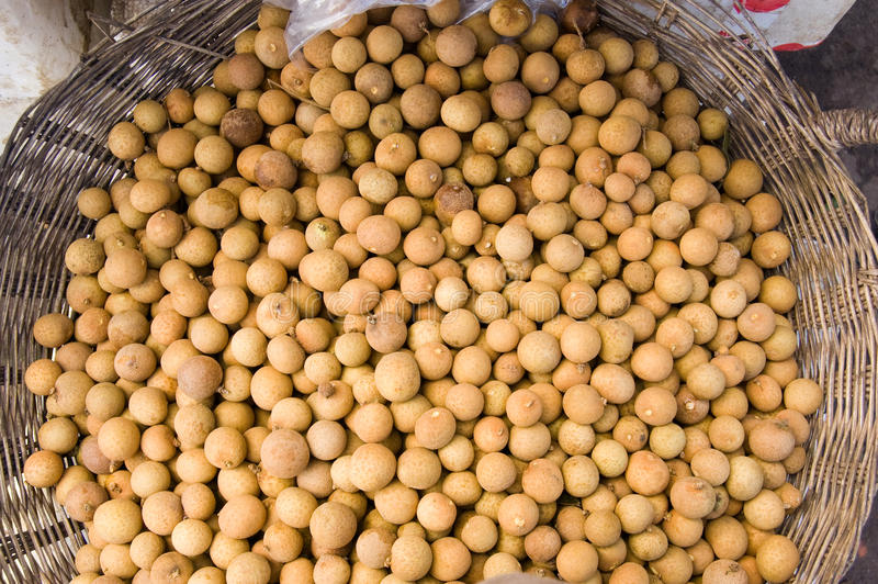 Download Longan Berries In A Cambodian Market Stock Photo - Image: 25252954