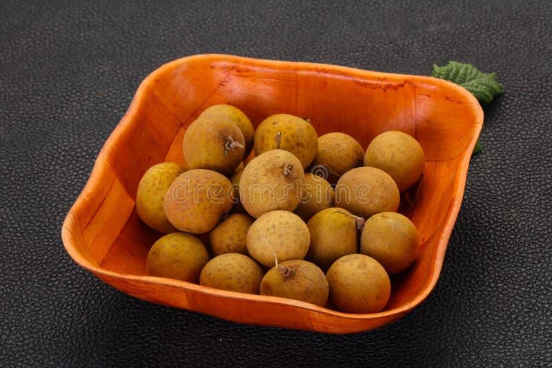 Longan f?r tropisk frukt fotografering för bildbyråer