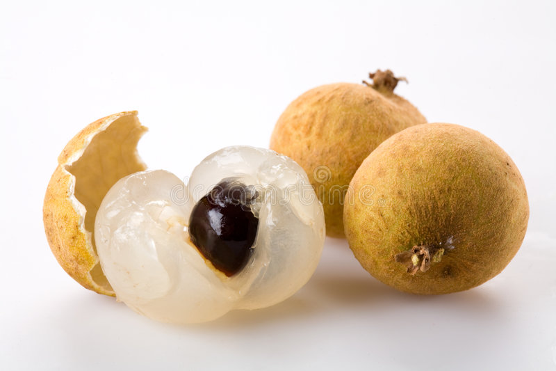 Longan - fruta exótica fotografía de archivo libre de regalías