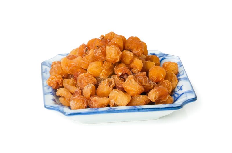 Longan. traditionele Chinese kruidenmedi royalty-vrije stock foto's
