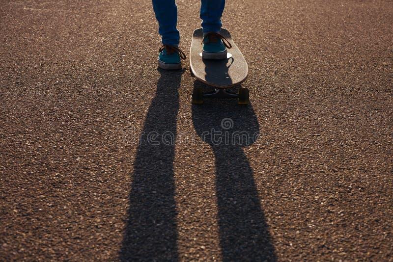 Longboarding   stockfotos
