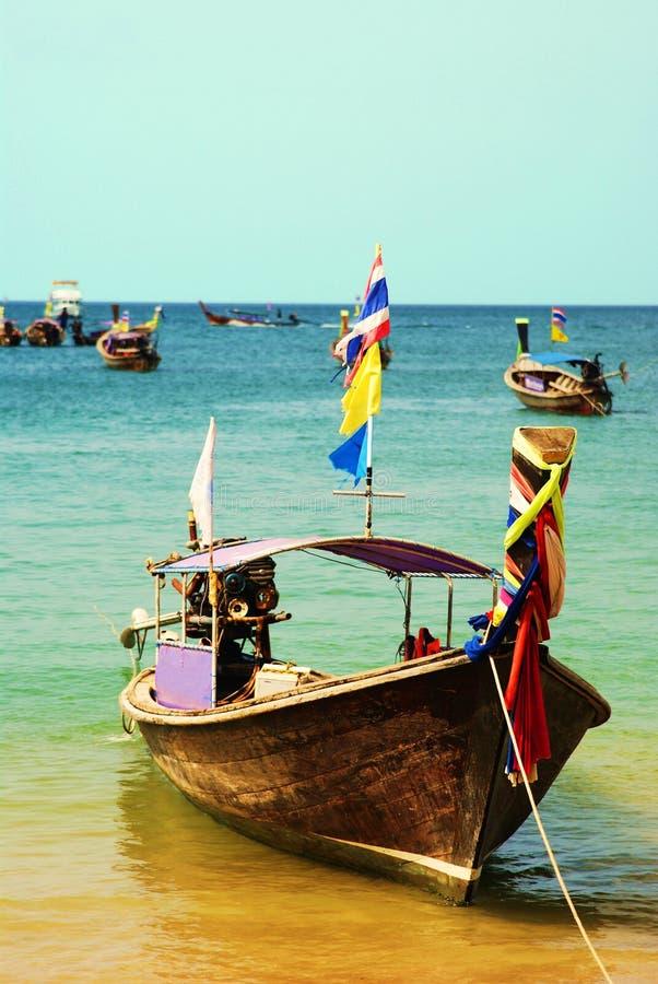 Download Longboat Ride stock photo. Image of thailand, resort - 13643958