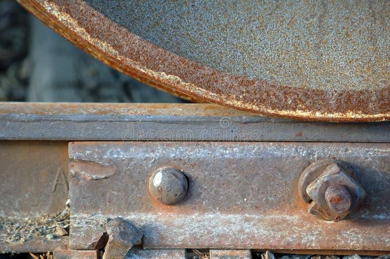 Longeron et roue images stock